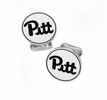 Pittsburgh Panthers Sterling Silver Cufflinks