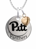 Pittsburgh Panthers with Heart Accent