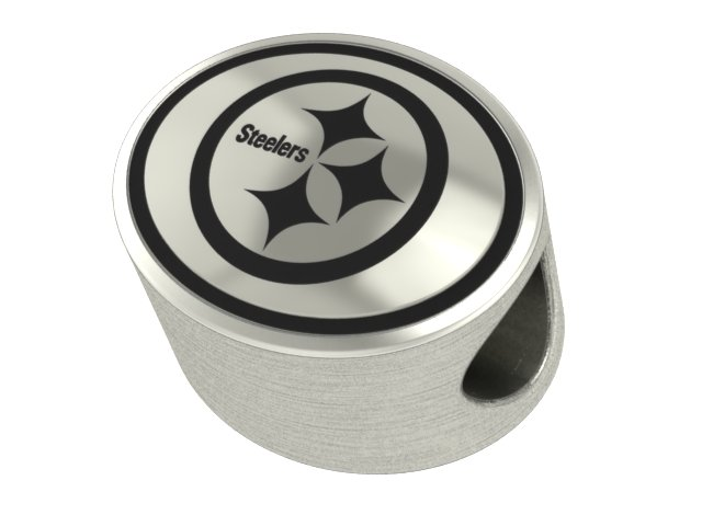 02c06866796 Wholesale Pittsburgh Steelers Silver NFL Bead Fits Pandora Style Charm  Bracelets