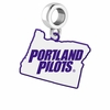 Portland Pilots Logo Dangle Charm