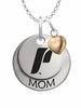 Portland Pilots MOM Necklace with Heart Charm