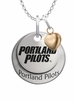 Portland Pilots with Heart Accent