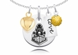 Purdue Boilermakers Necklace With Heart, Color and Love
