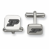 Purdue Boilermakers Stainless Steel Cufflinks