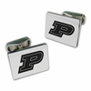 Purdue Boilermakers Sterling Silver Cuff Links