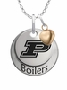 Purdue Boilermakers with Heart Accent