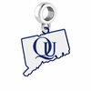 Quinnipiac Bobcats Logo Dangle Charm