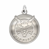 Quinnipiac Bobcats Natural Finish Charm