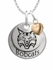 Quinnipiac Bobcats with Heart Accent