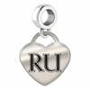 Radford Engraved Heart Dangle Charm