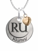 Radford Highlanders Alumni Necklace with Heart Accent