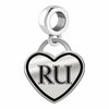 Radford Highlanders Border Heart Dangle Charm