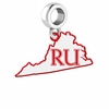 Radford Highlanders Logo Dangle Charm