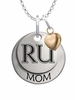 Radford Highlanders MOM Necklace with Heart Charm
