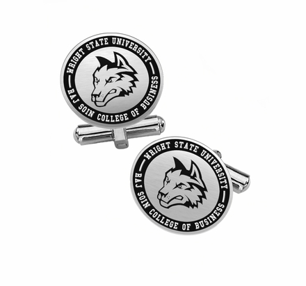 Raj Soin College of Business Cufflinks