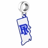 Rhode Island Rams Logo Dangle Charm