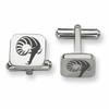 Rhode Island Rams Stainless Steel Cufflinks