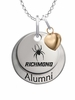 Richmond Spiders Alumni Necklace with Heart Accent