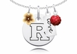 Rutgers Scarlet Knights Cluster Necklace
