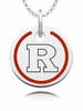 Rutgers Scarlet Knights Round Enamel Charm