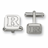 Rutgers Scarlet Knights Stainless Steel Cufflinks