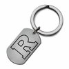 Rutgers Scarlet Knights Stainless Steel Key Ring