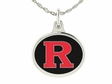 Rutgers University Sterling Silver Charm