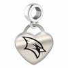 Saginaw Valley State Engraved Heart Dangle Charm