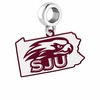 Saint Joseph's Hawks Logo Dangle Charm