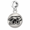 Saint Josephs Round Dangle Charm
