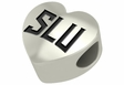 Saint Louis Billikens Heart Shape Bead
