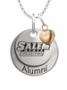 Salem State Vikings Alumni Necklace with Heart Accent