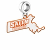 Salem State Vikings Logo Dangle Charm