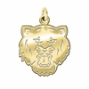 Sam Houston State Bearkats 14K Yellow Gold Natural Finish Cut Out Logo Charm