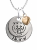Sam Houston State Bearkats Alumni Necklace with Heart Accent