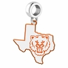 Sam Houston State Bearkats Logo Dangle Charm