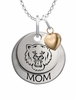 Sam Houston State Bearkats MOM Necklace with Heart Charm