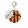 Samford Bulldogs Crystal Drop Charm