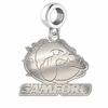 Samford Bulldogs Dangle Charm