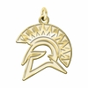 San Jose State Spartans 14K Yellow Gold Natural Finish Cut Out Logo Charm