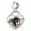 Seton Hall Engraved Heart Dangle Charm