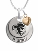 Seton Hall Pirates Alumni Necklace with Heart Accent