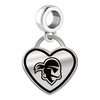 Seton Hall Pirates Border Heart Dangle Charm
