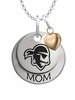 Seton Hall Pirates MOM Necklace with Heart Charm
