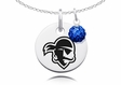 Seton Hall Pirates Necklace with Crystal Ball Accent