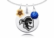 Seton Hall Pirates Necklace with Flower Charm