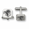 Seton Hall Pirates Stainless Steel Cufflinks