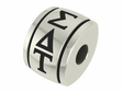 Sigma Delta Tau Sorority Barrel Bead