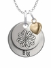 Sigma Kappa BIG Necklace with Heart Accent