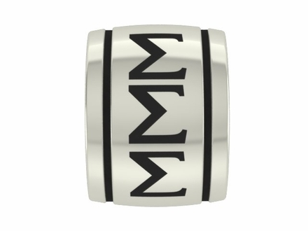 Sigma Sigma Sigma Sorority Barrel Bead
